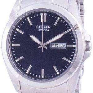 Reloj para hombre Citizen Blue Dial acero inoxidable cuarzo BF0580-57L