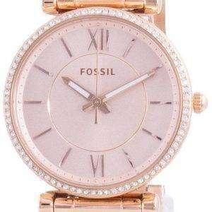 Reloj Fossil Carlie Diamond Accents Quartz ES4301 para mujer