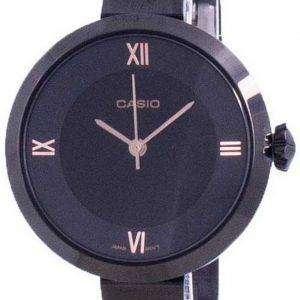 Reloj Casio Analog Black Dial LTP-E154B-1A LTPE154B-1A para mujer