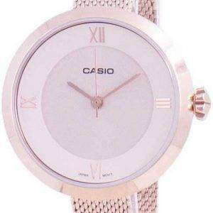 Reloj Casio Analog Pink Dial LTP-E154MPG-4A LTPE154MPG-4A para mujer