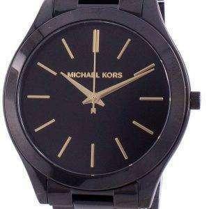 Michael Kors Slim Runway Black Dial MK3221 Reloj para mujer