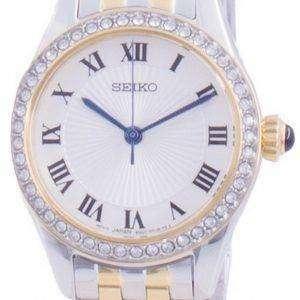 Reloj para mujer Seiko Discover More Diamond Accents Quartz SUR336 SUR336P1 SUR336P