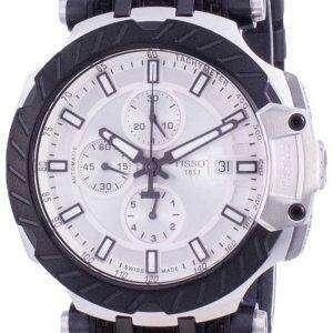 Tissot T-Race Chronograph Automatic T115.427.27.031.00 T1154272703100 100M Reloj para hombre