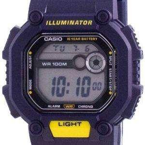Reloj Casio Youth Illuminator Digital W-737H-2A W737H-2A 100M para hombre