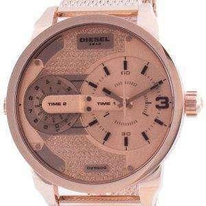 Reloj Diesel Mini Daddy en tono dorado rosa con esfera de cuarzo DZ5600 para hombre