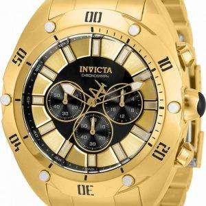 Invicta Venom Chronograph Black Dial Quartz 33744 100M Herreur