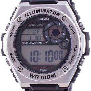 Casio Illuminator Digital MWD-100H-1A MWD100H-1 100M Herreur