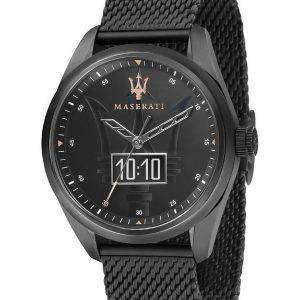 Maserati Traguardo Black Dial Quartz R8853112001 100M Herreur