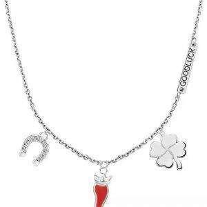 Morellato Nyd rustfrit stål SAIY01 halskæde til kvinder