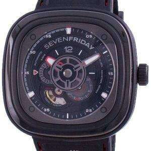Sevenfriday P-Series RACER III Automatic P3C / 02 SF-P3C-02 100M Herreur
