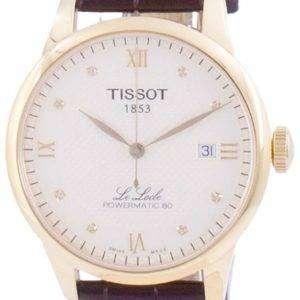 Tissot Le Locle Powermatic 80 Automatic T006.407.36.266.00 T0064073626600 Herreur