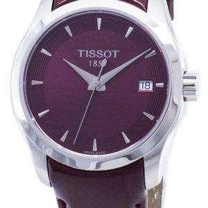 Tissot T-Classic Couturier Lady T 035.210.16.371.01 T0352101637101 Quartz Women's Watch