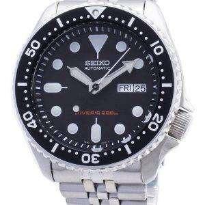 Renoveret Seiko Automatic Divers SKX007 SKX007K2 SKX007K 200M Herreur
