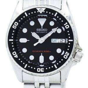 Renoveret Seiko Automatic Scuba Diver&#39,s SKX013 SKX013K2 SKX013K 200M Herreur
