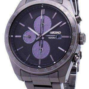 Reloj para hombre Seiko Solar Chronograph SSC721 SSC721P1 SSC721P 100M reacondicionado