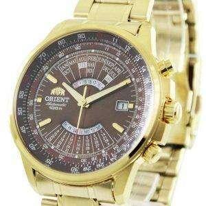 Reloj para hombre renovado Orient Automatic Perpetual Calendar FEU07003TX 100M