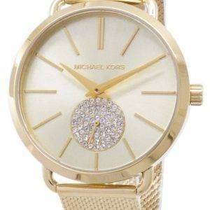 Reloj de mujer Michael Kors Portia Quartz Diamond Accent MK3844 reacondicionado