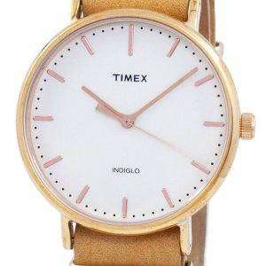 Reloj unisex Timex Weekender Fairfield Indiglo Quartz TW2P91200 reacondicionado