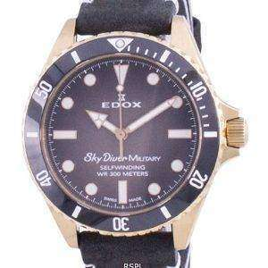 Edox Skydiver Military Limited Edition Automatic 80115BRZNNDR 80115 BRZN NDR 300M Men's Watch