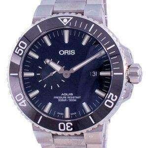 Oris Aquis Small Second Date Automatischer Taucher 01-743-7733-4135-07-8-24-05PEB 500M Herrenuhr