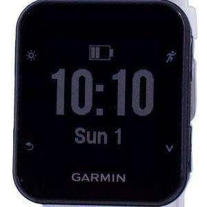 Garmin Forerunner 35 Outdoor Fitness GPS Schwarzer Saphir mit weißem Band 010-01689-13 Multisportuhr