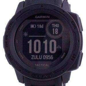 Garmin Instinct Solar Tactical Edition Schwarzes Silikonband 010-02293-03 Multisportuhr