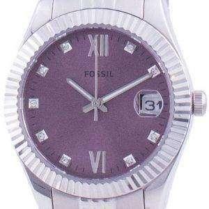 Fossil Scarlette Mini Diamond Akzente Quarz ES4905 Damenuhr
