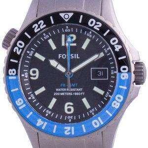 Fossile FB-GMT Kurator Titan Limited Edition Quarz LE1100 200M Herrenuhr