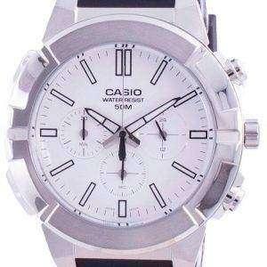 Casio Multi Zeiger Analog Quarz Chronograph MTP-E500-7A MTP-E500-7 Herrenuhr