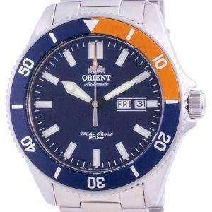 Orient Blue Dial Edelstahl Automatik RA-AA0913L19B 200M Herrenuhr