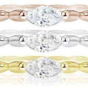 Morellato 1930 Sterling Silber Multi Tone SAHA15014 Damenring