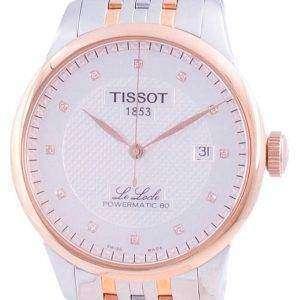 Tissot Le Locle Powermatic 80 Automatik T006.407.22.036.01 T0064072203601 100M Herrenuhr