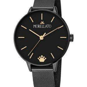 Morellato Ninfa Black Dial Quartz R0153141541 Reloj para mujer