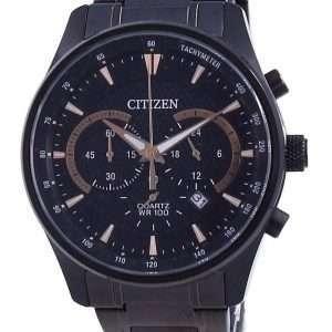 Reloj para hombre Citizen Black Dial Chronograph Quartz AN8195-58E 100M