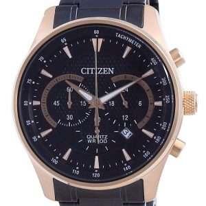 Reloj para hombre Citizen Black Dial Chronograph Quartz AN8196-55E 100M