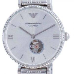 Emporio Armani Gianni T-Bar Open Heart Diamond Accents Automatic AR60022 Reloj para mujer