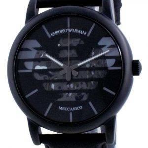Emporio Armani Luigi Skeleton Leather Automatic AR60032 Reloj para hombre