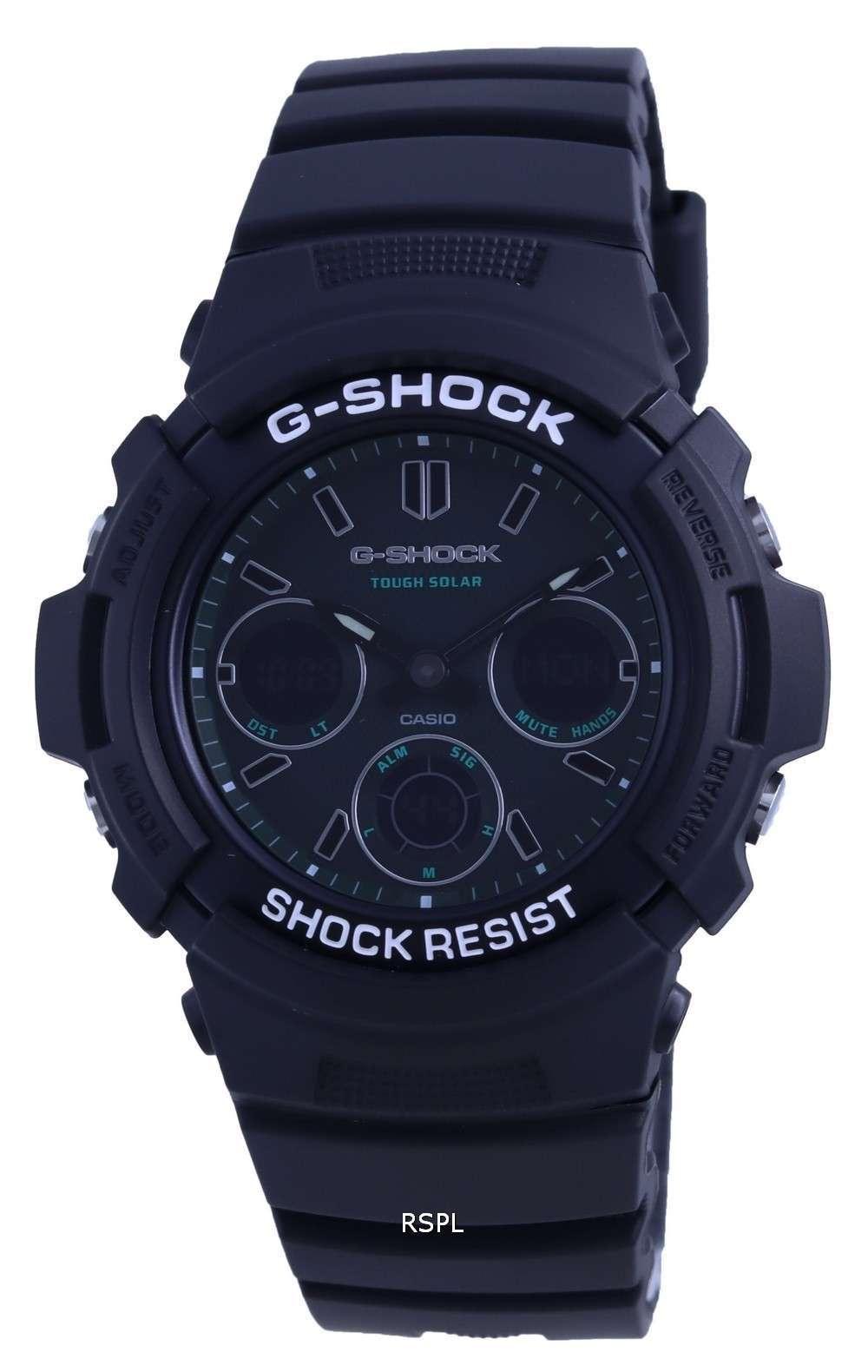 Reloj Casio G-Shock Special Color Analógico Digital Tough Solar AWR-M100SMG-1A AWRM100SMG-1 200M para hombre