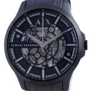 Reloj para hombre Armani Exchange Hampton Skeleton de acero inoxidable automático AX2418