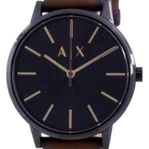 Reloj Armani Exchange Cayde Black Dial Quartz AX2706 para hombre