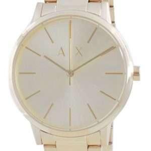 Reloj Armani Exchange Cayde de acero inoxidable en tono dorado y cuarzo AX2707 para mujer