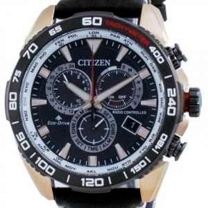 Reloj para hombre Citizen Promaster Eco-Drive Chronograph Radio Controlled Diver&#39,s CB5038-14E 200M