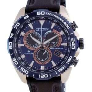 Reloj para hombre Citizen Promaster Cronógrafo controlado por radio Diver&#39,s Eco-Drive CB5039-11L 200M
