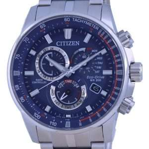 Reloj Citizen PCAT Radio Controlled Chronograph Atomic Eco-Drive CB5880-54L 200M para hombre