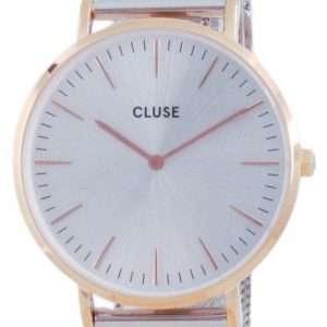 Cluse La Boheme Reloj de cuarzo de acero inoxidable en tono dorado rosa CW0101201006 para mujer