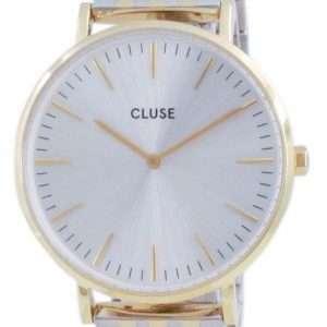 Cluse La Boheme Reloj de cuarzo de acero inoxidable en tono dorado CW0101201025 para mujer