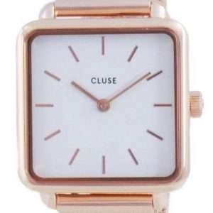 Cluse La Tetragone White Dial Quartz CW0101207001 Reloj para mujer