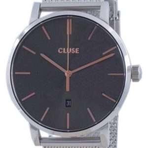 Cluse Aravis Grey Dial acero inoxidable cuarzo CW0101501003 Reloj para mujer