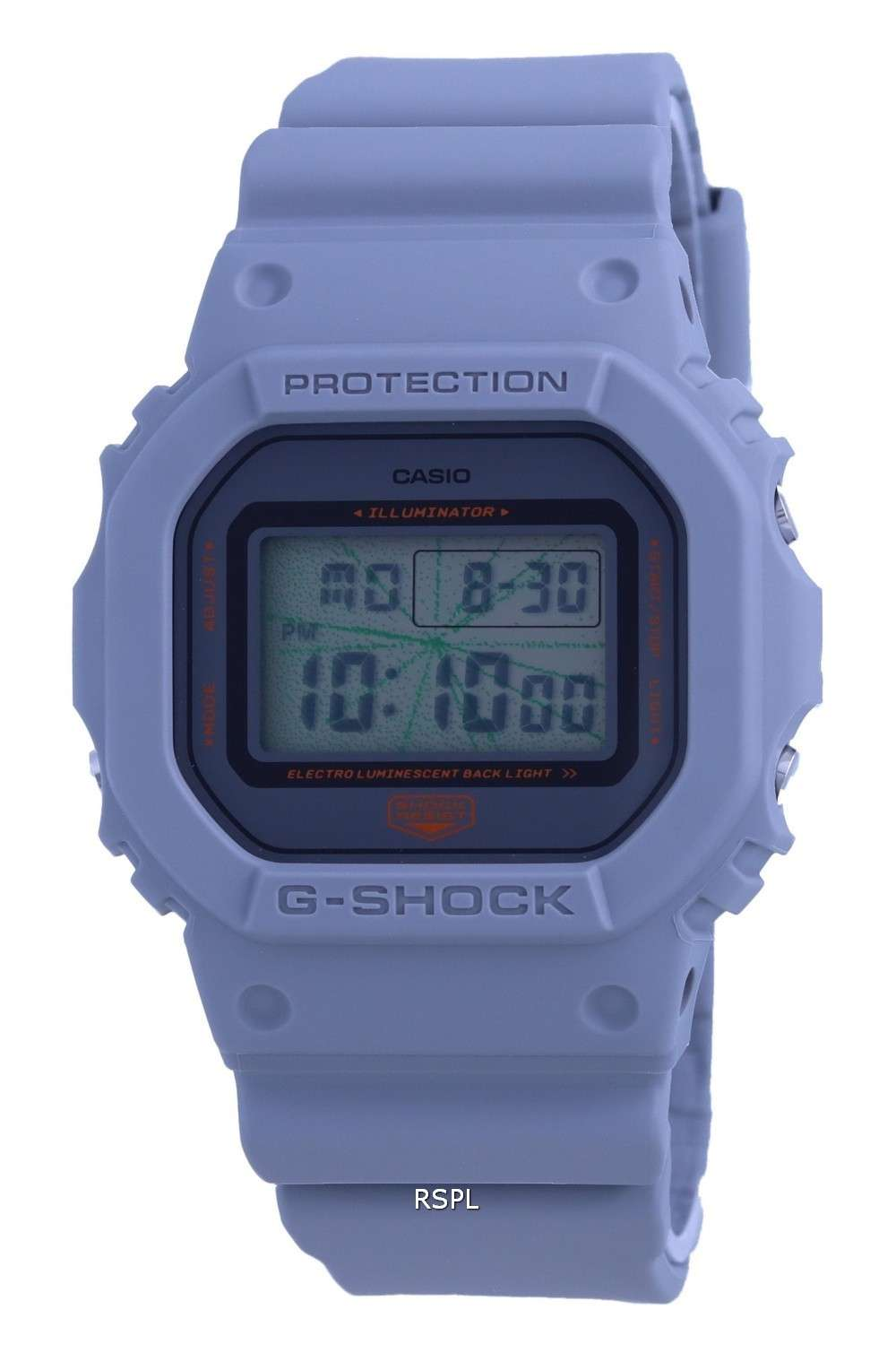 Reloj Casio G-Shock Tokyo Music Night Digital DW-5600MNT-8 DW5600MNT-8 200M para hombre