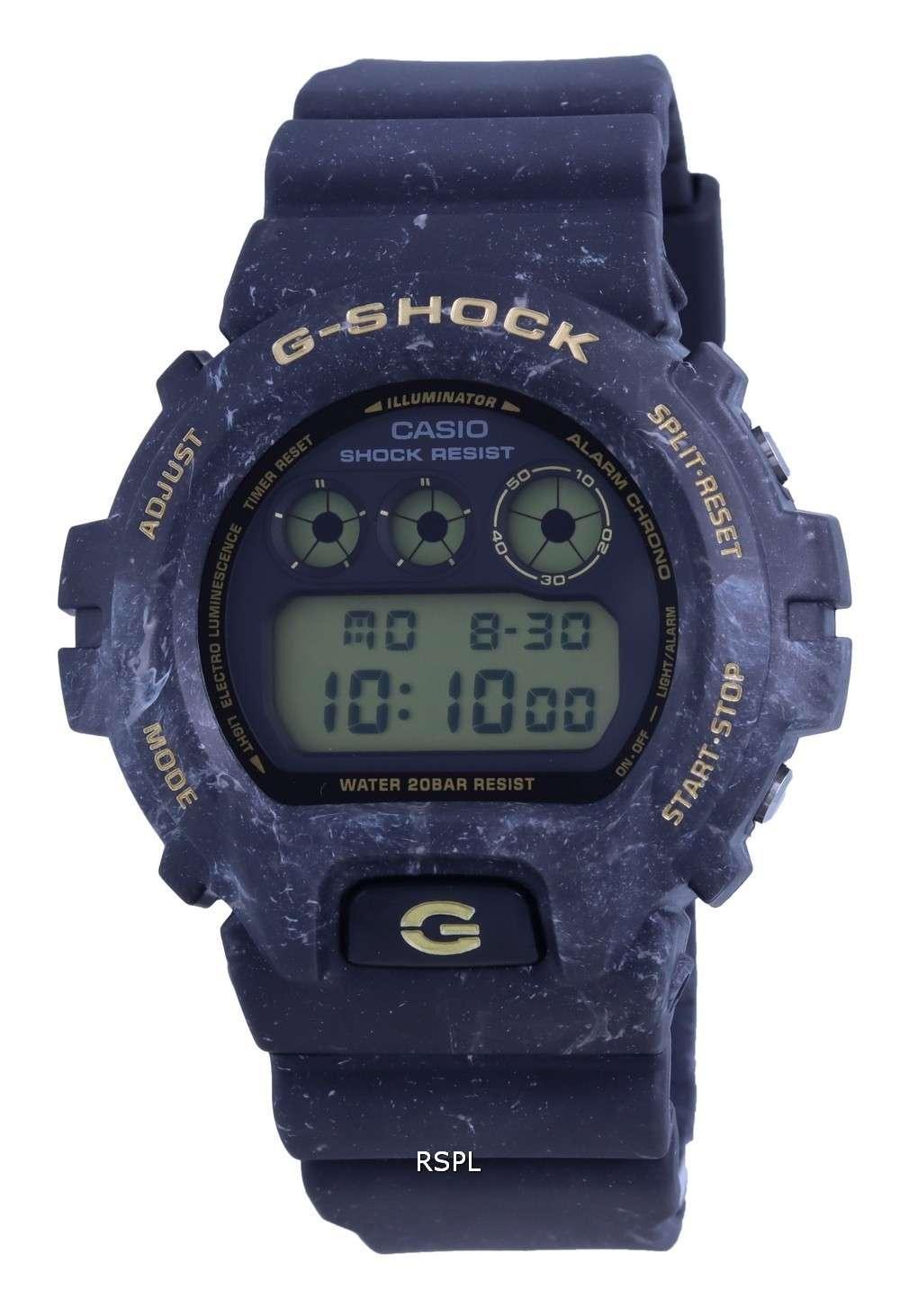 Reloj Casio G-Shock Special Color Digital DW-6900WS-1 DW6900WS-1 200M para hombre